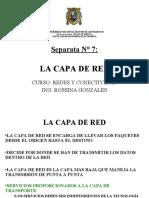 007 -D- Capa de Red