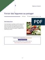 13 - Forcer des legumes au potager
