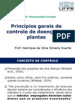 Princípios de controle de doenças de plantas