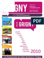 Le journal de Grigny de janvier 2011