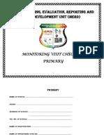 Primary Checklist Revised 2014