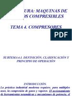 TEMA 4 MAQUINAS DE FLUIDOS COMPRESIBLES