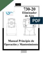 Eliminador de Aire Manual de Operación y Mantenamiento 730-20.pdf
