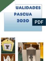 MANUALIDADES PASCUA  2020