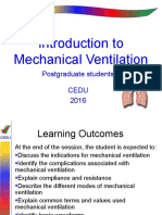 Basic Mechanical Ventilation 2016