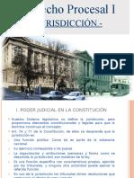 2.- Jurisdicción (Unidad 2, Procesal I)