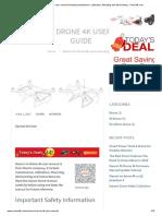 xiaomi mi drone 4k user manual