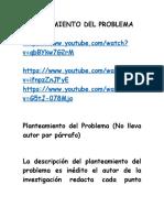 3. PLANTEAMIENTO DEL PROBLEMA