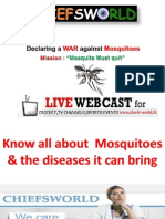 Know All About Mosquitoes