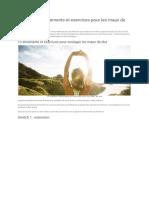 10 meilleurs étirements et exercices pour les maux de dos