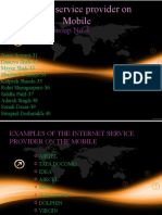 Internet Service Provider on Mobile