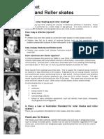 EDF5017 - Topic 2 - Activity 3 - Rollerblading - Handout 1