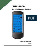 Sunwave SRC-3000 User Manual