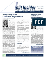 UHY Not-for-Profit Newsletter - November 2010