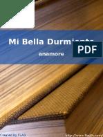 anamore - Mi Bella Durmiente