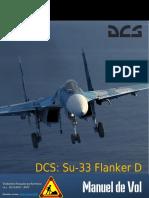 Manuel de Vol SU 33 sur DCS