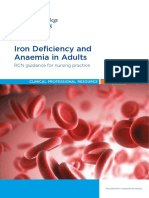 Iron deficiency anemia guidelines