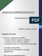 Clase 1 la admisnitración publica - preparadora