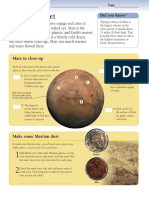 The Red Planet- Activities