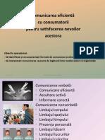 COMUNICAREA EFIC. CU CONSUMAT.-MK AFACERII