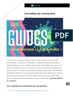 Guide Prevention Coronavirus selon Apowersoft