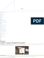 design a library management system