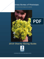 BBB Mississippi 2010 Charities Guide