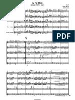 In the Mood - Sax quintet (AATTB)