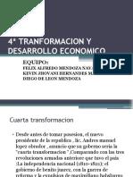 4ª tranformacion y desarrollo economico