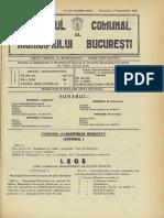 Lege organizarea administrativa a BUCURESTIULUI - Monitorul_Primăriei_București_1929-09-15,_nr._37