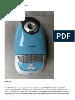 How to repair a vacuum cleaner