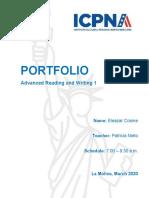 Portfolio ARW1
