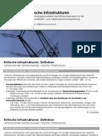 Definition Lokaler Kritischer Infrastrukturen - KRITIS-Kataster und schutzgutorientierte Identifikationsansätze für die kommunale Gefahrenabwehr- und Katastrophenschutzplanung