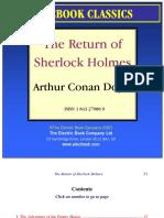 The Return of Sherlock Holmes- Arthur Conan Doyle
