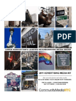 ADVERTISING MEDIA KIT 2011