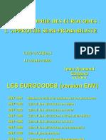 L'approche semi-probabiliste des Eurocodes (J.A. Calgaro)