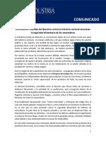Comunicado Conindustria - Empresas Polar - Abril 25