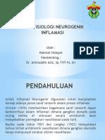 PATOFISIOLOGI NEUROGENIK INFLAMASI ppt