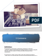 1. Introduction to e-Commerce