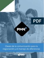LECTURA CLAVES DE COMUNICACION PARA LA NEGOCIACION Y EL MANEJO DE DIFERENCIAS