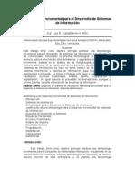 Metodología de Desarrollo Incremental de Sistemas de Información