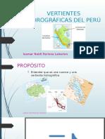 VERTIENTES HIDROGRÁFICAS DEL PERÚ