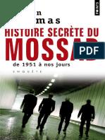 Histoire secrecte du Mossad - Gordon Thomas.pdf