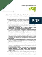 Postura Del Cepad - Recomendacion 28 2010 Bosque El Nixticuil