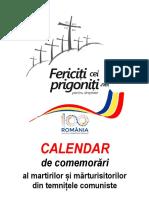 Calendar Marturisitori 1