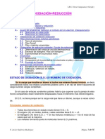 Teoría de Oxidación-Reducción