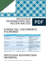 Patologia respiratoria del recién nacido (1)