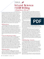 Art and Science of OER Writing