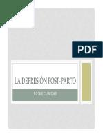 La depresión post-parto