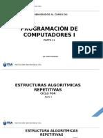 Programación I - Ciclo For.pptx